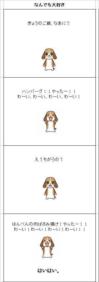 ビーグル わん太 犬漫画